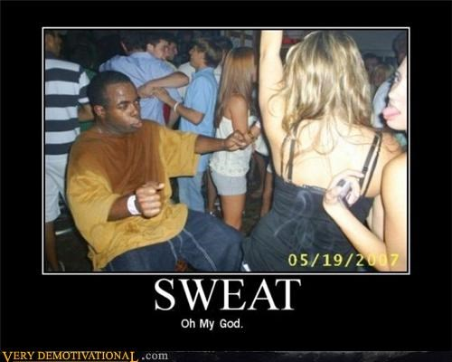 clubbing dancing going full bore in the club sweat sweaty Terrifying - 3463588864