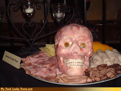 cold cuts donner family face human protein sick skull - 3464052480
