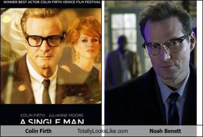 a single man actors Colin Firth heroes jack coleman Movie noah bennet TV