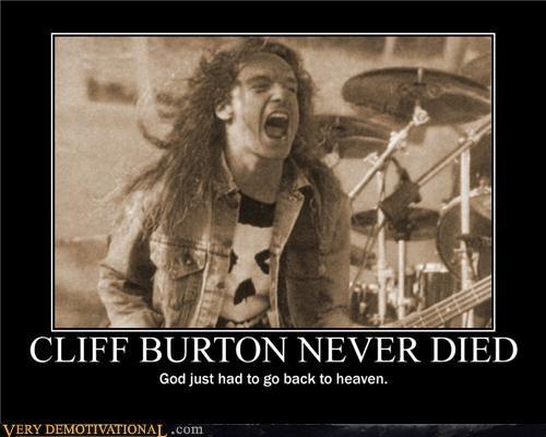 CLIFF BURTON NEVER DIED
