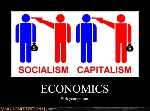 capitalism is evil Hall of Fame money politics red vs blue Sad socialism is evil straw man