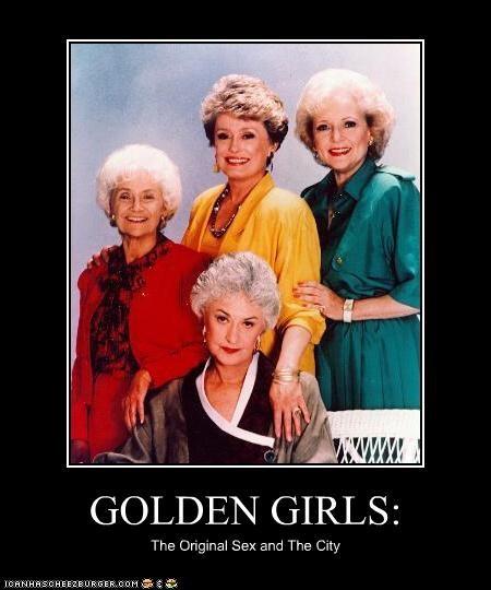 bea arthur betty white estelle getty golden girls old original sex and the city TV - 3466007296