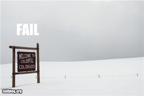 color Colorado failboat g rated sign snow - 3466231296