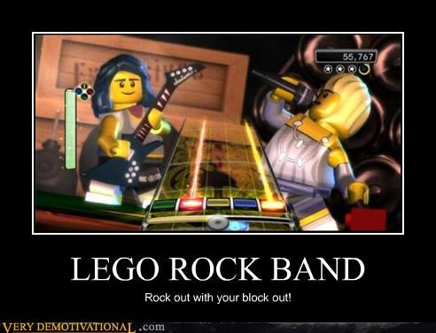 lego oh yeah rock band - 3467676672