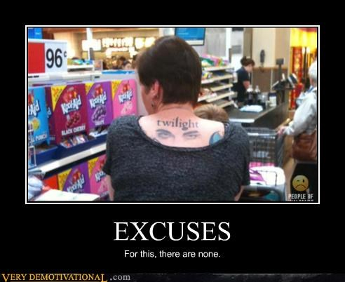 excuse tattoo twilight - 3467713280