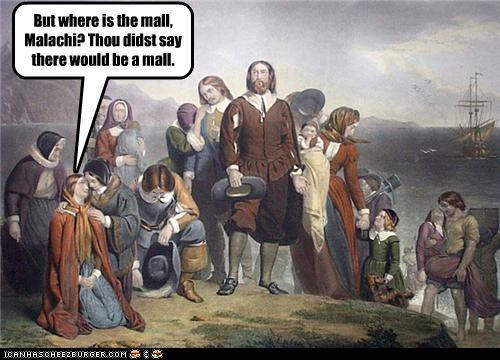 mall,pilgrims