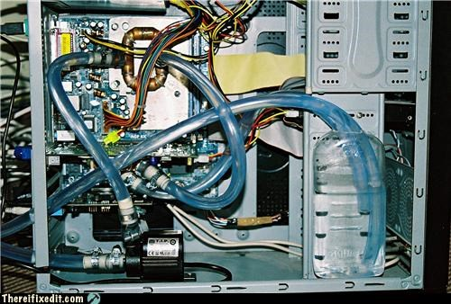 computer hose mod unsafe water cooling - 3467928576