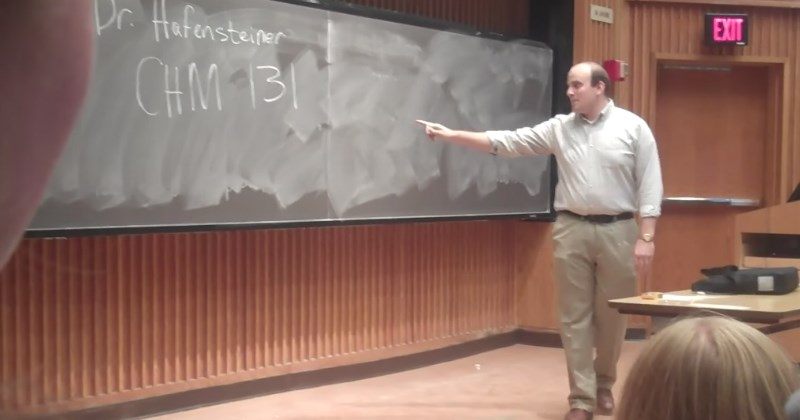 Students Pull a Prank and Pretend to Be A Professor on the First Day of Class