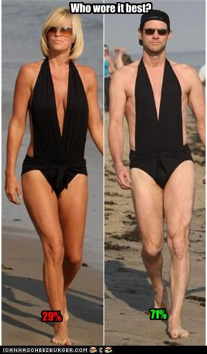 actor,actress,bathing suit,beach,jenny mccarthy,jim carrey,poll