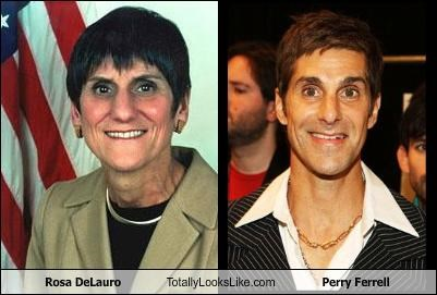 janes-addiction musician perry farrell politician rosa delauro