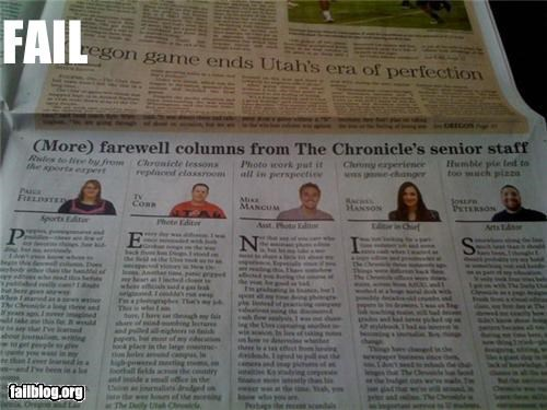 awesome failboat Hall of Fame newspaper spell subliminal - 3469347328