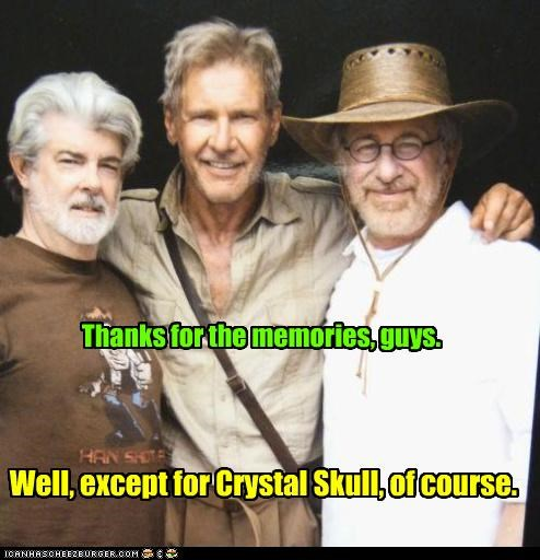 actor director george lucas Harrison Ford Indiana Jones steven spielberg - 3470116864