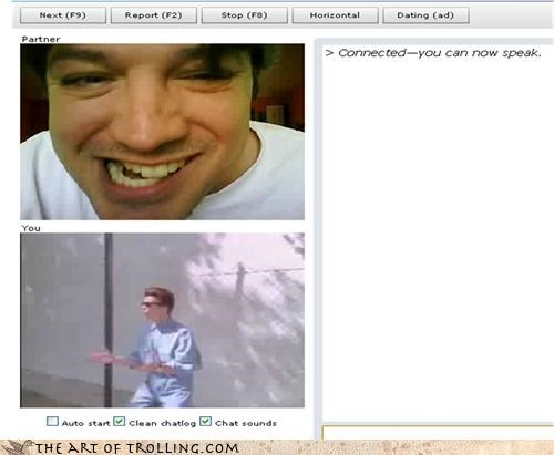 Chat Roulette,rick roll,trollface