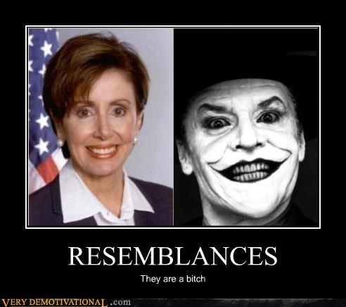 RESEMBLANCES They are a bitch