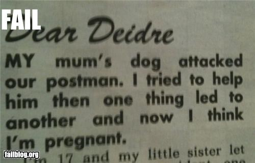 advice dogs failboat postman pregnant - 3471469312