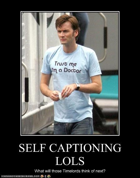 actor David Tennant doctor who sci fi self referrencing sexy Brits shirt - 3472473856
