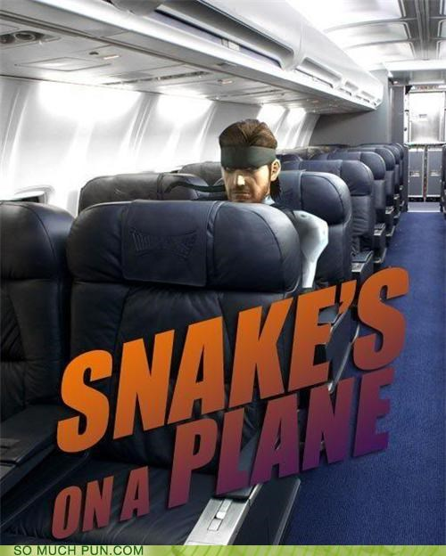 airplane MSG snakes spy video game - 3472695296