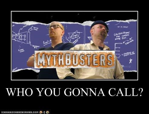 adam savage,Ghostbusters,jamie hyneman,mythbusters,TV