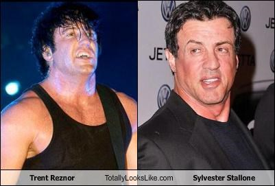 actor musician nine inch nails Sylvester Stallone trent reznor - 3473319424