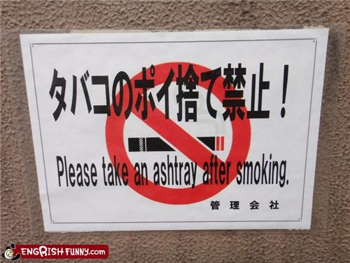 ashtray,notice,sign,smoking