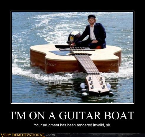 awesome,boat,guitar boat,impossible,Invalid Argument,magic