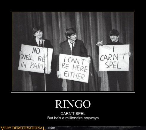 beatles Ringo idiots - 3475227392