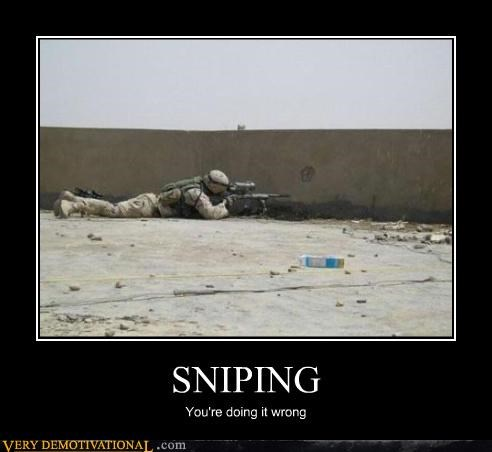 wtf doing it wrong wall sniping