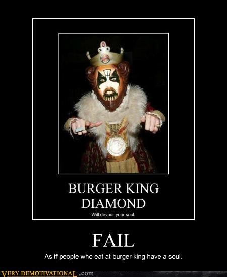 people,FAIL,burger king