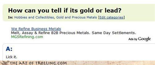 gold lead lick metal silver - 3476816128