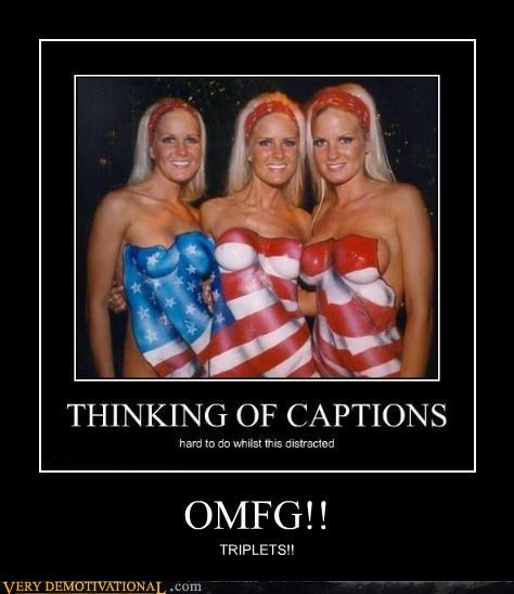 triplets captions omfg - 3477462528