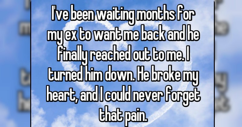 People Reveal the Unexpected Times They Heard From an Ex