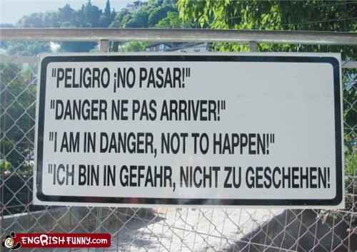 danger european german sign - 3478911488