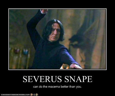 actor Alan Rickman dancing Harry Potter Macarena sci fi Severus Snape - 3479555584
