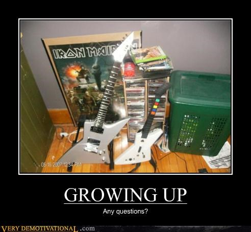 growing up,iron maiden,video games,questions
