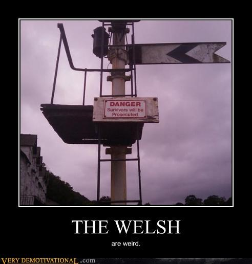 sign welsh danger illegal weird - 3480915712