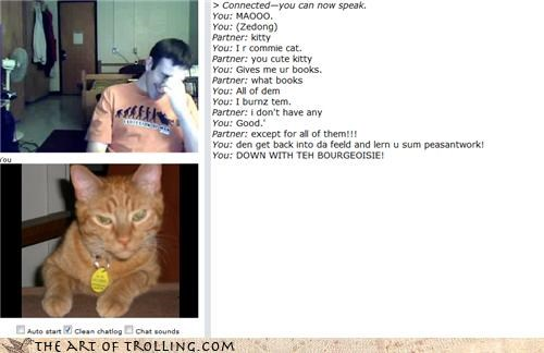 cat,Chat Roulette,commie,communist,russia