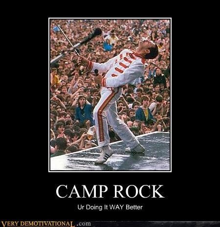 camp rock,freddie mercury