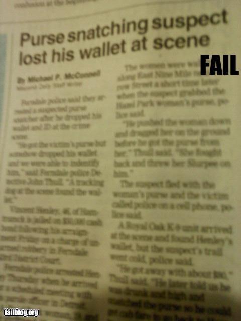 failboat mugging paper thief - 3481331968