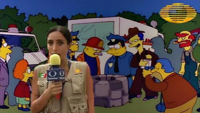 simpsons caso televisa