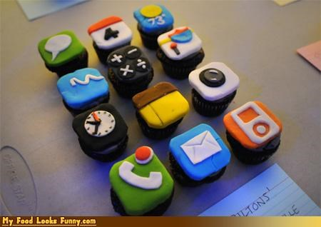 apple,apps,cupcakes,ipad,iphone,phone,sugar,Sweet Treats