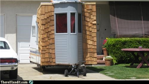 aftermarket add-on,bay window,mobile home,shingles