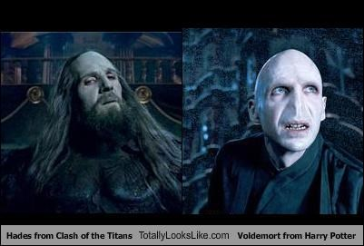 Funny Harry Potter Memes Voldemort : Hades from clash of the titans totally looks like voldemort from