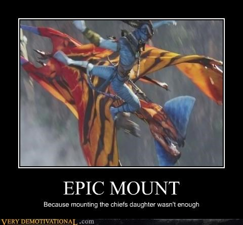 EPIC MOUNT Because mounting the chiefs daughter wasn't enough