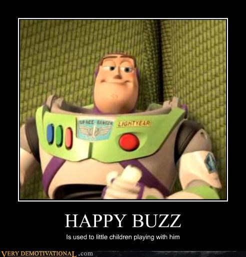 HAPPY BUZZ Is used to little children playing with him