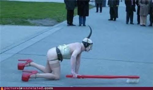 crazy cross dressing humiliation public streets wtf - 3484907776