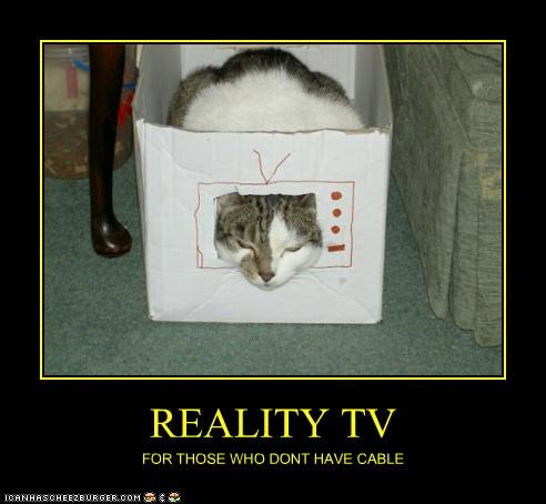 REALITY TV FOR THOSE WHO DONT HAVE CABLE