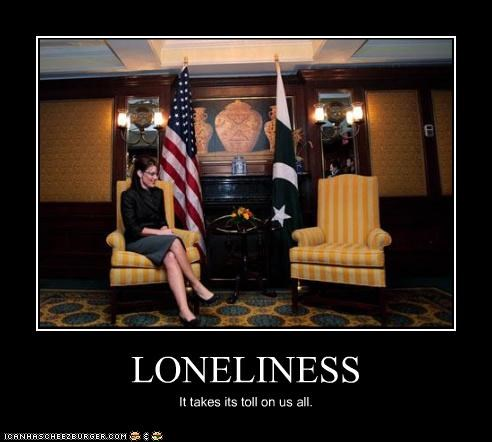 lonely,Republicans,Sarah Palin