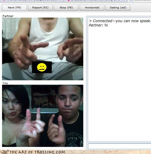 Chat Roulette,liar,tiny