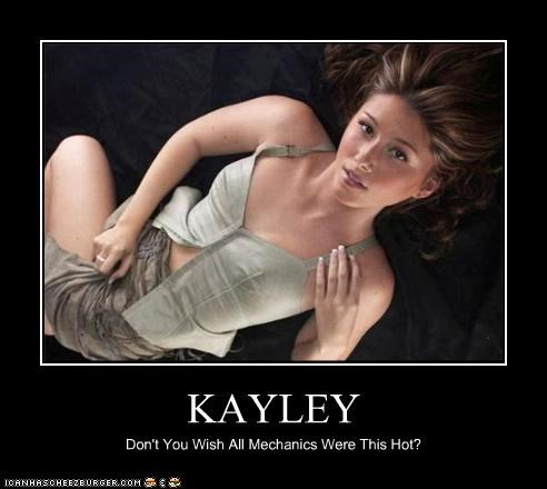 KAYLEY Don't You Wish All Mechanics Were This Hot?