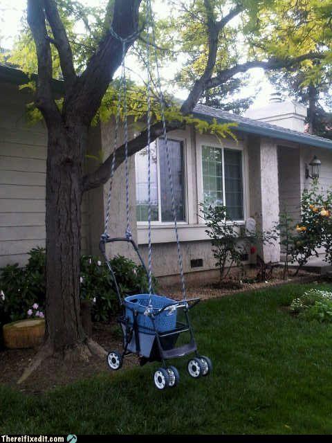 outdoors stroller swing - 3487548416